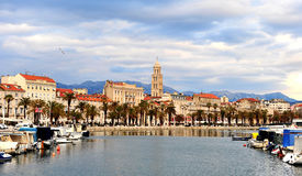 View of historical centre of Split, Croatia Stock Photos