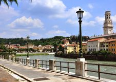 View of the historical centre of Verona Stock Photography