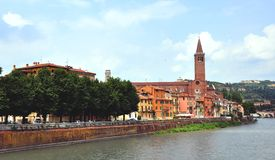 View of the historical centre of Verona Royalty Free Stock Photography