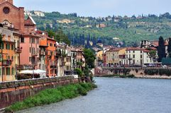 View of the historical centre of Verona Stock Image