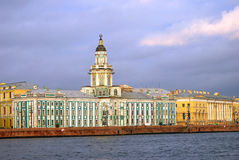 View of historical city center of Saint-Petersburg, Russia. Stock Images