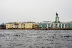 View of historical city center of Saint-Petersburg, Russia. Royalty Free Stock Image
