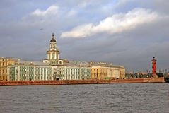 View of historical city center of Saint-Petersburg, Russia. Stock Photography