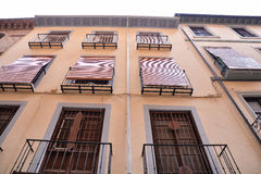 View of the Historical City of Granada Royalty Free Stock Image