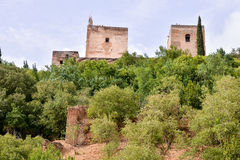 View of the Historical City Granada Royalty Free Stock Image