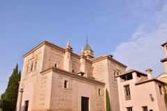 View of the Historical City Granada Royalty Free Stock Images
