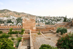 View of the Historical City Granada Stock Photos