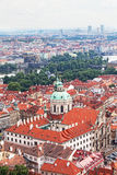 View of the historical districts of Prague Royalty Free Stock Image