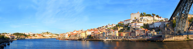 View of  historical downtown, Porto, Portugal Stock Image