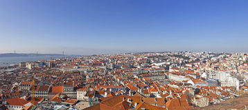 View of the historical Lisbon Stock Photos