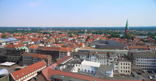 View on historical Lubeck Royalty Free Stock Photo