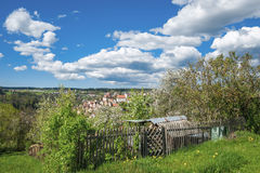View of the historical old town of Altensteig Royalty Free Stock Photos