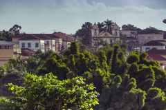 View of the historical town Brazil Royalty Free Stock Photo