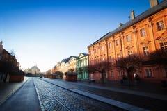 View of Hlavna street in Kosice, Slovakia Stock Photos