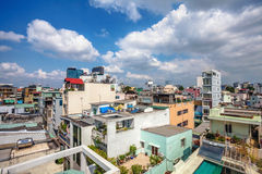 View of Ho Chi Minh City Stock Photo