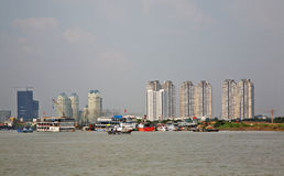 View of Ho Chi Minh. Vietnam Royalty Free Stock Photo