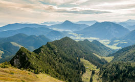 View from Hochfeln. View of the nature Hochfeln Royalty Free Stock Photos