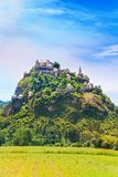 View of Hochosterwitz castle in Austria Royalty Free Stock Photos