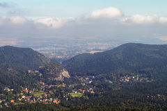 View from the Hochwald Stock Images