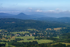 View from the Hochwald Stock Photography