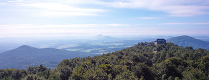 View from the Hochwald Royalty Free Stock Photo