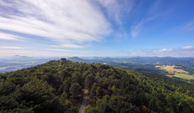 View from the Hochwald Royalty Free Stock Photography