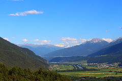View from Hohe Munde mountain Royalty Free Stock Images