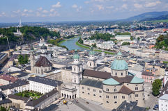 View from the Hohensalzburg Castle - Salzburg, Aus Stock Image