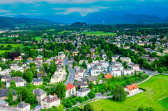 View from the Hohensalzburg Castle Stock Photography
