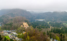 View of Hohenschwangau Castle, Germany Stock Photography