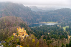 View of Hohenschwangau Castle, Germany Royalty Free Stock Photos