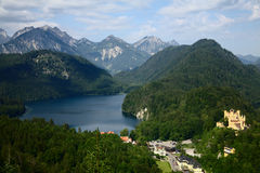 A view on Hohenschwangau Stock Image