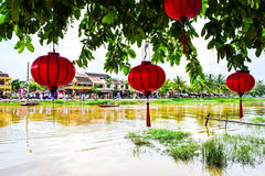 View of Hoi An historical town, Vietnam Royalty Free Stock Photo