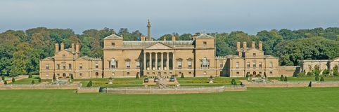 View of holkham hall Stock Images