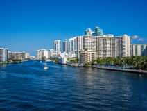 View of Hollywood, FL Royalty Free Stock Photo