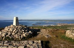 View from Holyhead Mountain Royalty Free Stock Photography