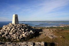View from Holyhead Mountain Stock Images