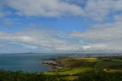 View from Holyhead Stock Image