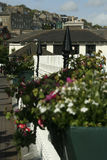 View of homes and JFK Park from main street, Cobh Ireland Royalty Free Stock Photo