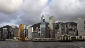 View of Hong Kong Stock Photo