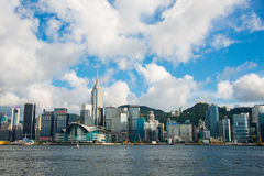 View of Hong Kong Stock Image