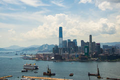 View of Hong Kong Royalty Free Stock Photography