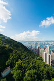 View of Hong Kong Royalty Free Stock Image