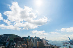 View of Hong Kong during the day Stock Image