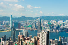 View of Hong Kong during the day Royalty Free Stock Images