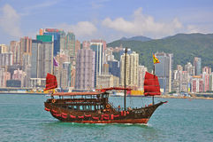 View of of Hong Kong downtown skyline Stock Image