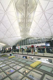 View of Hong Kong International airport Stock Images