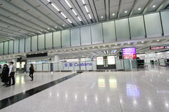 View of Hong Kong International airport Royalty Free Stock Photos