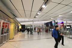View of Hong Kong International airport Royalty Free Stock Photography