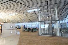 View of Hong Kong International airport Royalty Free Stock Image